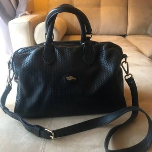 Rare Roots Kristina woven leather bag